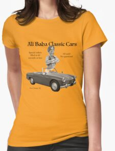 Ali Baba Classic cars Womens Fitted T-Shirt