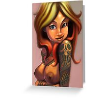 The Bullet Maiden Greeting Card