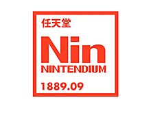 Nintendium Element Photographic Print