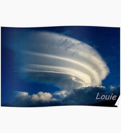 Cloud Scape Poster