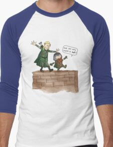 Legolas & Gimli Men's Baseball ¾ T-Shirt