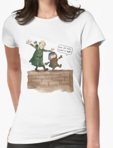 Legolas & Gimli Womens Fitted T-Shirt