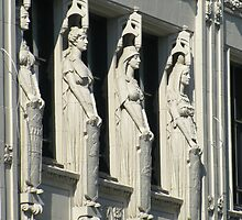 Southam Building: Caryatids by Mike Shell