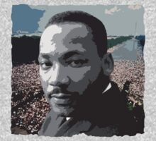 Martin Luther King Jr. by Ben Simpson