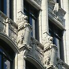 Southam Building: Heraldic lions by Mike Shell
