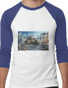 M48A1 Patton Men's Baseball ¾ T-Shirt