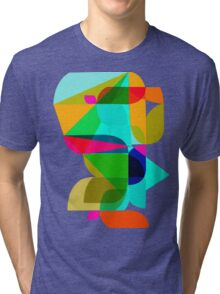 abstract geometric 3 Tri-blend T-Shirt
