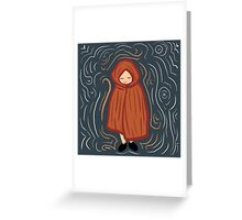 Little Red Ridding Hood Greeting Card