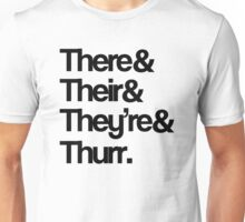 Their Grammar Unisex T-Shirt