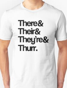 Their Grammar T-Shirt