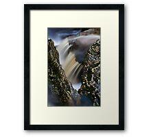 Window, Snug Falls, Tasmania Framed Print