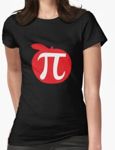 Apple Pi Womens Fitted T-Shirt