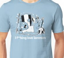 I f**king love lammies - LARP UK Unisex T-Shirt