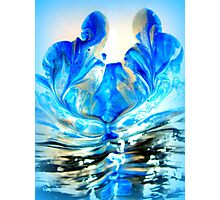 double blue you Photographic Print