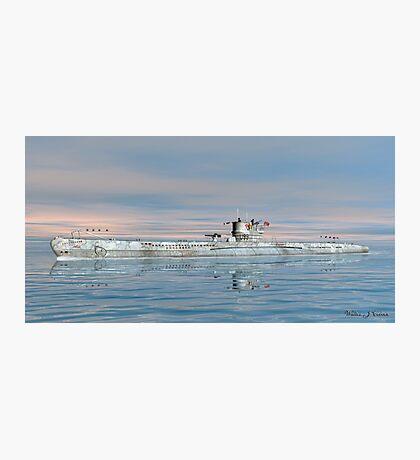 German Submarine U-99 Photographic Print
