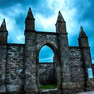 Church Ruins  - Front by Sue Fallon Photography