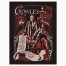 crowley sticker by Tracey Gurney