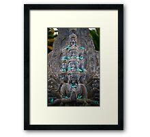 Tara Stupa Framed Print