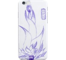 Floral Robot Ink Sketch iPhone Case/Skin