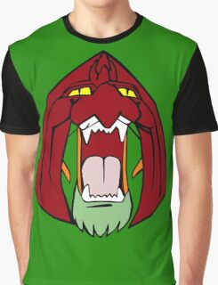 The Face of Battle Cat  Graphic T-Shirt