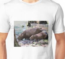 Capybara and Her Baby Unisex T-Shirt