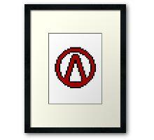 Vault Symbol Framed Print