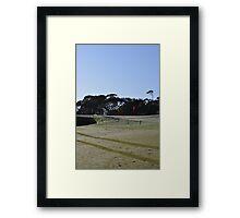 Moonah Links Series #62 Framed Print