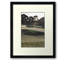Moonah Links Series #64 Framed Print
