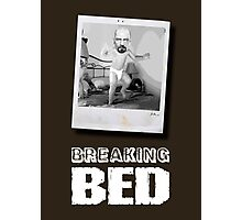 Breaking Bed Photographic Print
