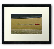 Moonah Links Series #66 Framed Print