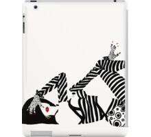 80s Dance Night, Vintage 1980s fashion art iPad Case/Skin