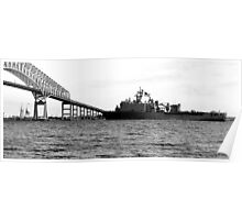 The USS Fort McHenry Poster