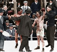 Ray Campbell vs Dick Hyland 3rd May, 1913 by MichaelLinskey