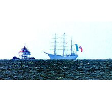 Tall Ship ARM Cuauhtemoc, in the Chesapeake Bay Photographic Print