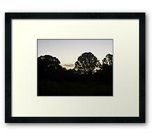 Sunrise Over the Mary River, Maryborough Framed Print