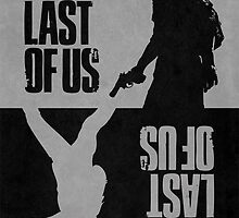 The Last of Us -  Ellie & Joel by Mixposters