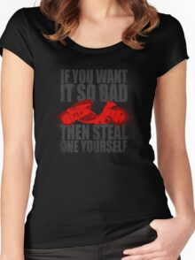 Steal one yourself Women's Fitted Scoop T-Shirt