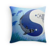 Depth Below Throw Pillow