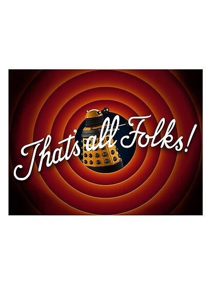 That's all Folks Parody- Dalek by laurarandall