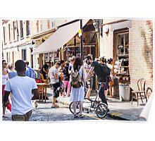 street scene east london Poster