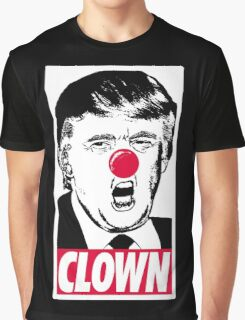 Trump - Clown Graphic T-Shirt