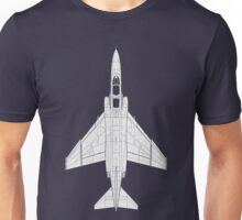 McDonnell Douglas F-4 Phantom II Unisex T-Shirt