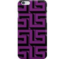 Purple Maze iPhone Case/Skin