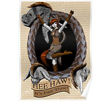 Hee Haw- Donkey Girl Poster