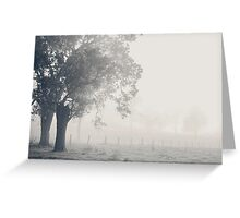 Faded Greeting Card