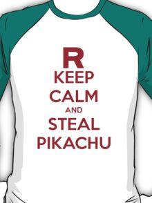 Team Rocket Keep Calm T-Shirt T-Shirt