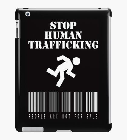 Stop Human Trafficking iPad Case/Skin