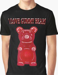 (✿◠‿◠) I LOVE GUMMY BEARS TEE SHIRT & VARIOUS-- APPAREL (✿◠‿◠) Graphic T-Shirt