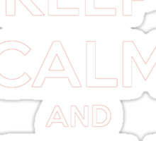 Catch Em All Keep Calm T-Shirt Sticker