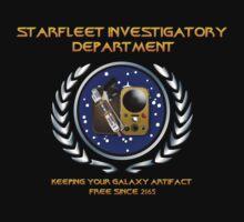 Warehouse 13: TNG Starfleet Investigatory Department by 3of8